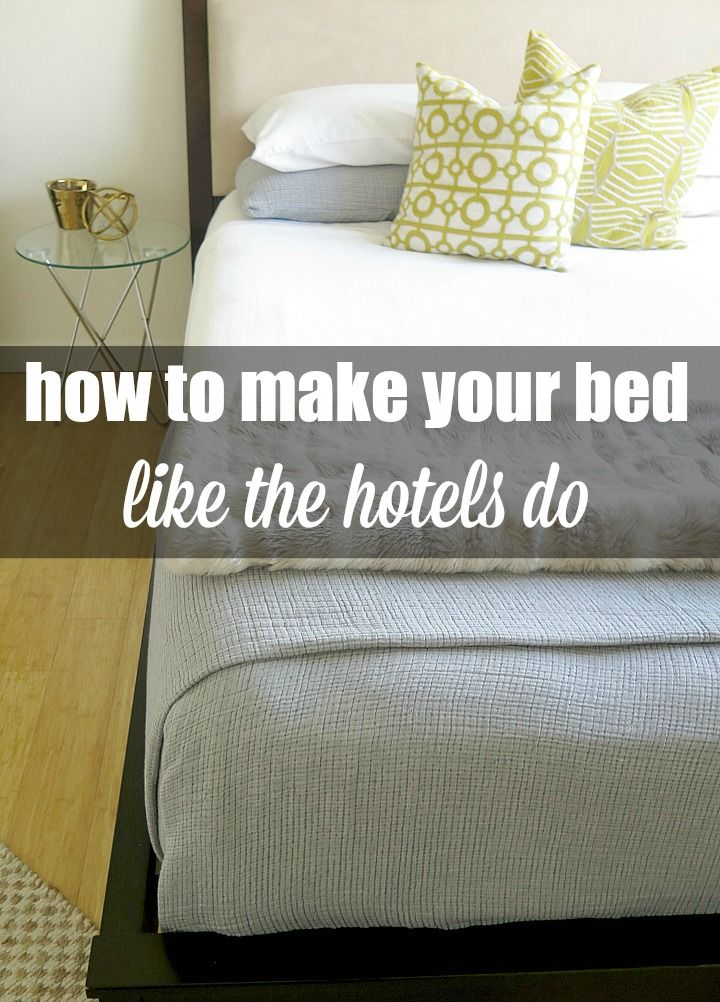 step by step guide to fold your sheets just like the hotels do