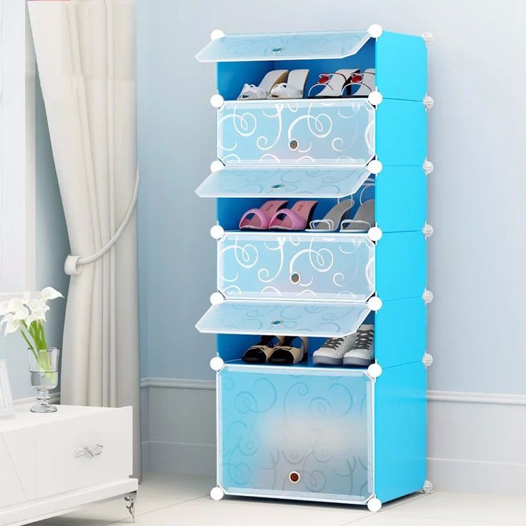 stackable plastic joint shoe rack cabinet