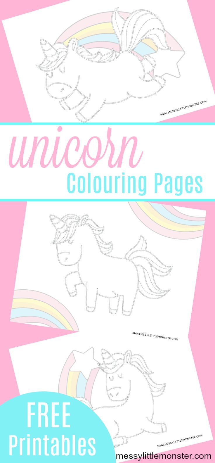 Free Printable Unicorn Colouring Pages Coloring Pages Unicorn