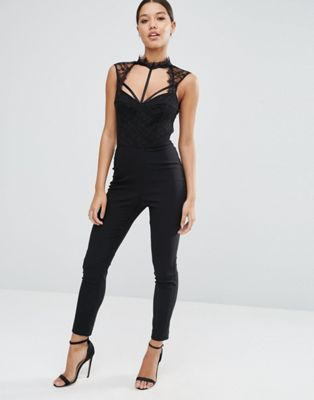 ASOS Jumpsuit with Lingerie Detail