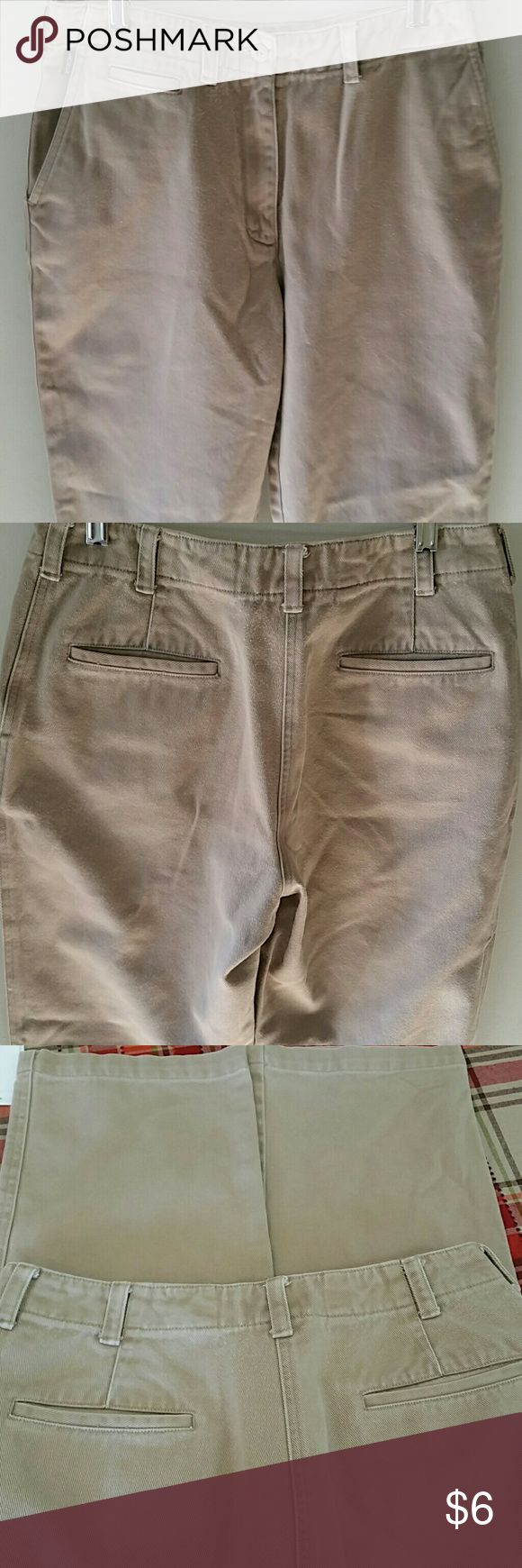 LADIES  RALPH LAUREN  PANTS, RALPH LAUREN PANTS,  SIZE  6 ,100%COTTON, MADE IN HONG KONG,  MACHINE WASH COLD,  COLOR  TAN, WAIST 31IN,INSEAM 30IN,  STRAIGHT LEG, RALPH LAUREN Pants Straight Leg