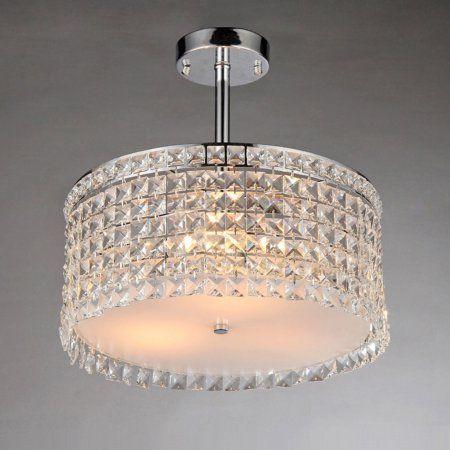 Warehouse of Tiffany Garcia X9118 Crystal Chandelier, Silver