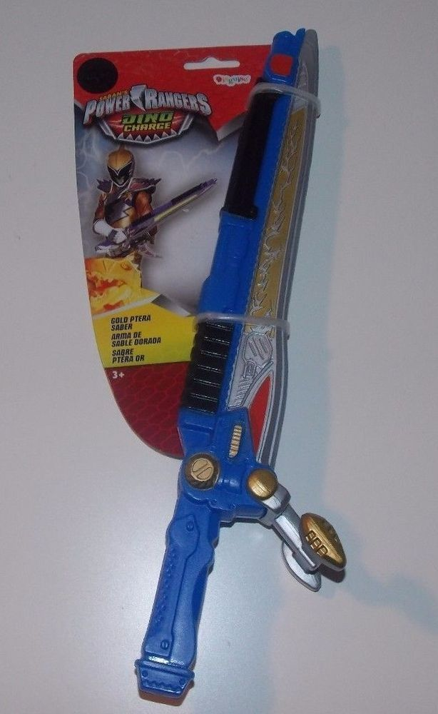 Power Rangers Dino Charge Gold Ptera Saber #Disguise