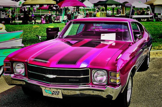 Pink Chevelle (the car if the Supernatural Winchesters were girls? LOL)