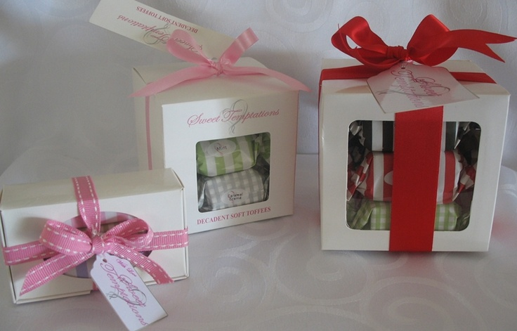 Different Size Gift Boxes