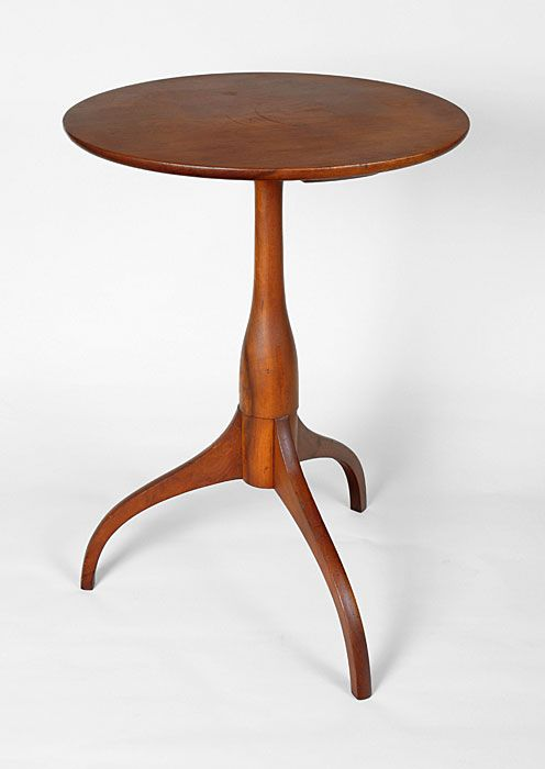 New Lebanon, NY, 1835 1840, Shaker Candle Stand