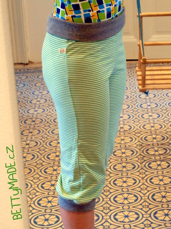 DIY yoga pants--not in english but might still be able to follow along with the short snippets
