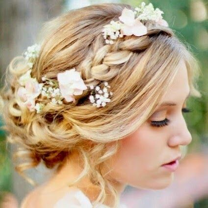 vintage inspired june wedding colors | Heavenly Vintage Wedding Blog: vintage-inspired hairstyles, 1970s ...