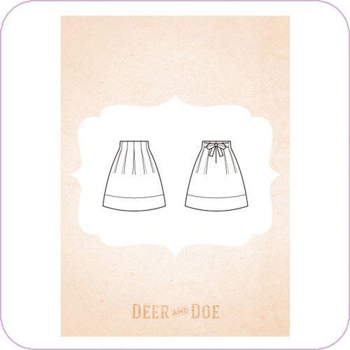 jupe chardon deer and doe