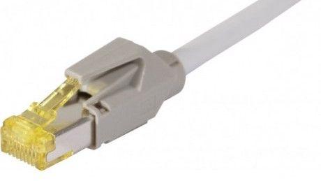 cable rj45 s/ftp gris 1m categorie 7