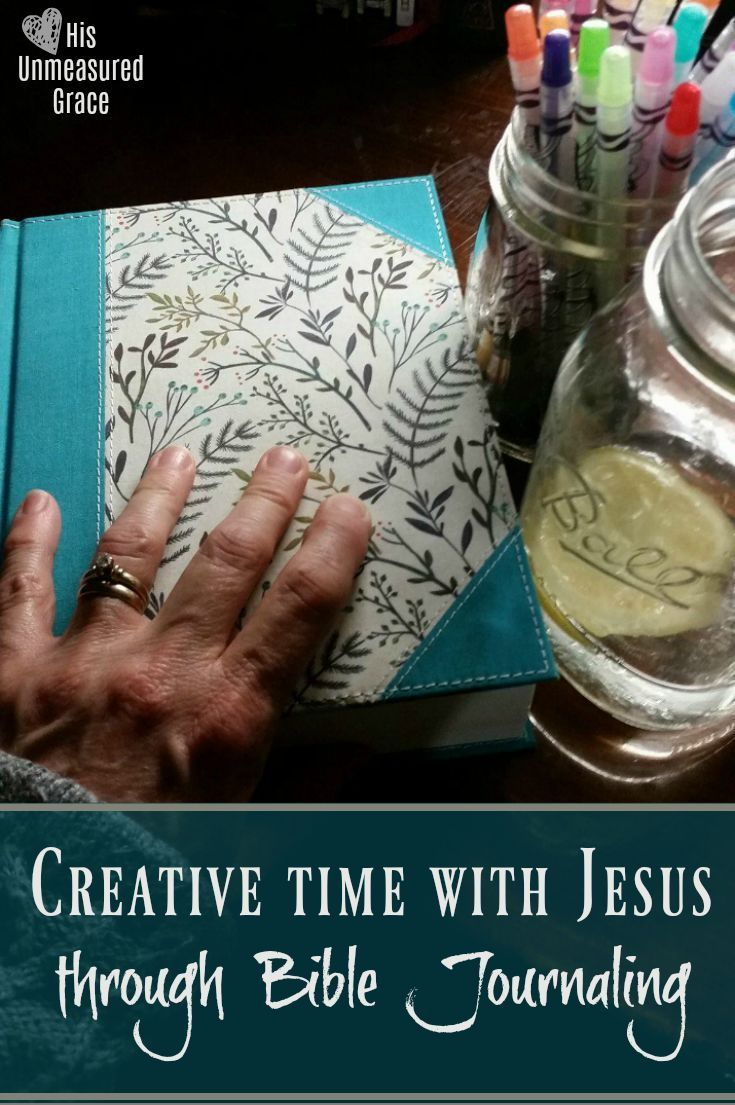 How to be creative in your Quiet Time with Jesus through Bible JournalingYou might be the woman who thinks you have no creative gene in your body!Think again!Most of us who are sharing our 'artwork' over at our Jesus Journaling Facebook ...