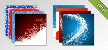 10 Free Christmas Backgrounds