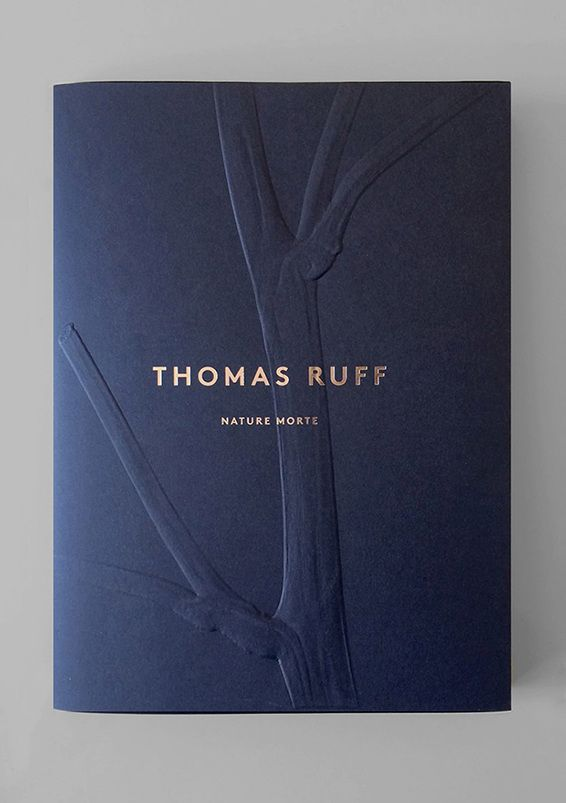 Folder 2: This Thomas Ruff folder has a lovely embossed and foiled finish. This would be the level of finish I would look at, but would like the folder to fasten closed in a more detailed way.   http://atelierdyakova.com/Nature-Morte