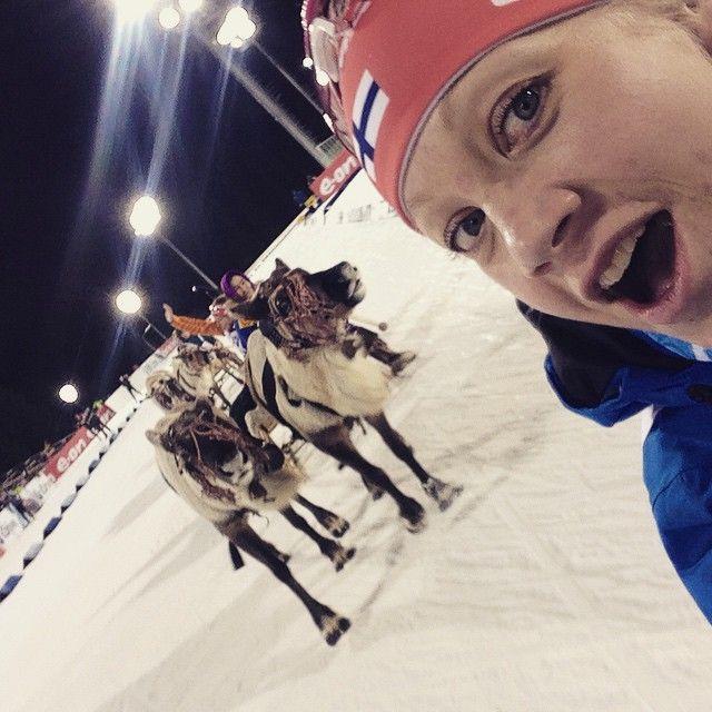 """From Russia with Love ❤️❤️❤️ #GoKaisa #biathlon #biathlonworldcup"""