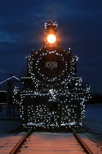 Night Train with lights...