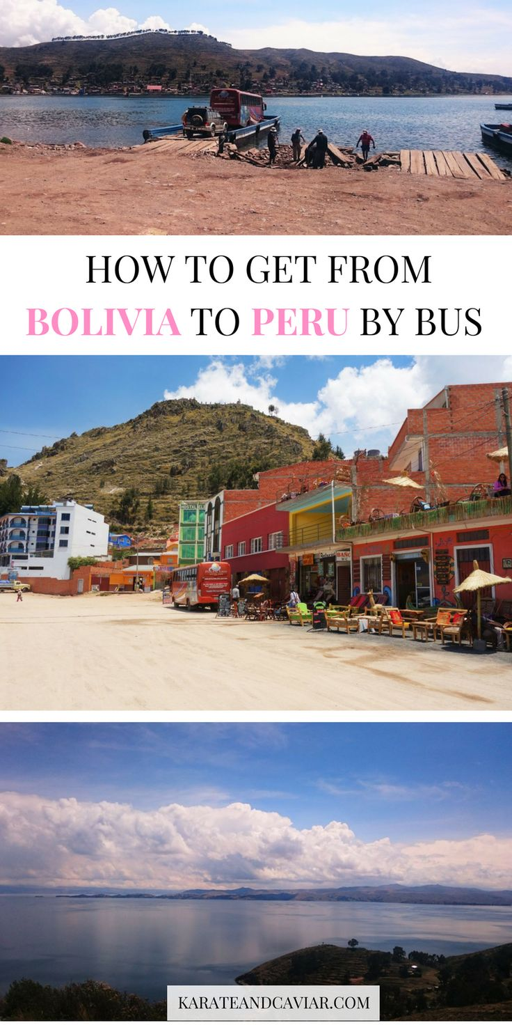 From La Paz to Arequipa by bus. Travelling in Peru and Bolivia. Backpacking South America