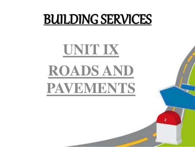 Roads & Pavements