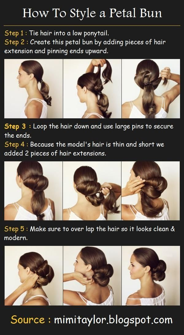 Long Hair Styles How To | 21/380 | | Tutorials, Videos, Pictures for Long Hairstyles |