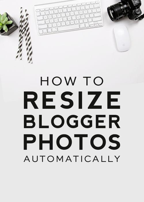 How to Resize Blogger Photos Automatically | DesignerBlogs.com