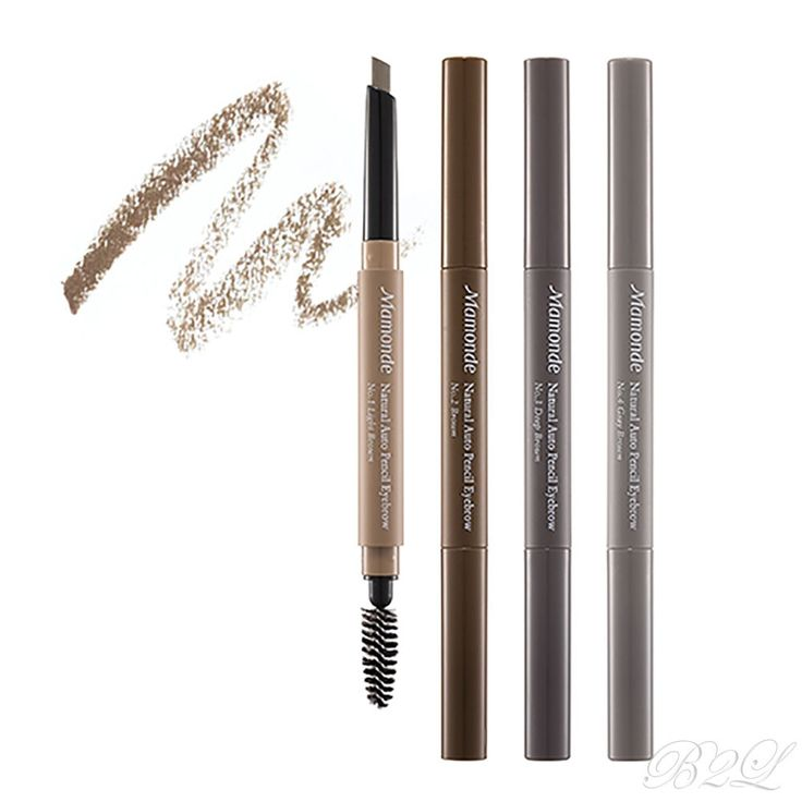 [MAMONDE] Natural Auto Pencil Eyebrow 0.3g/ Easy-to-use auto type eyebrow pencil #MAMONDE