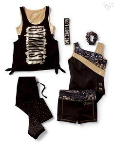 She's got fierce shine! Amazing leotards, tops and more she'll flip for.
