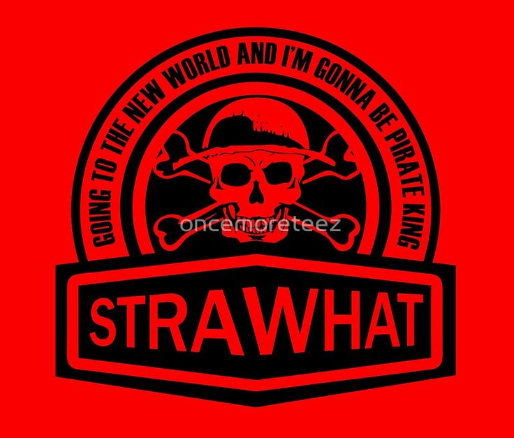 Strawhat Pirate (Black) One Piece anime