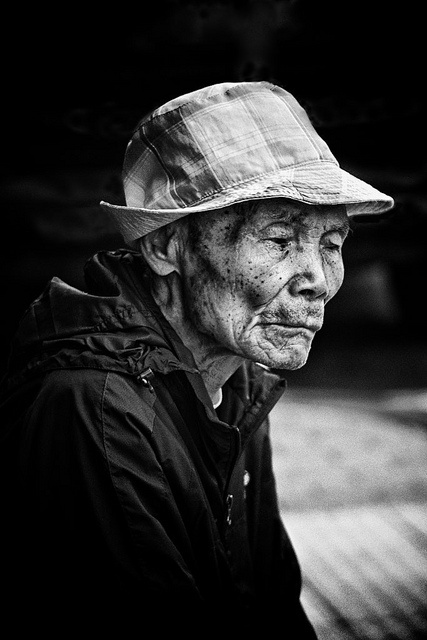 He spoke softly in his native tongue, utterances of the heart. Chinese Whispers by J Howe, via Flickr