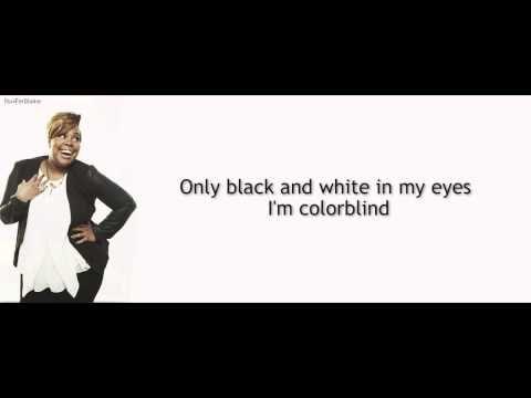 ▶ Glee - ColorBlind | LYRICS - YouTube