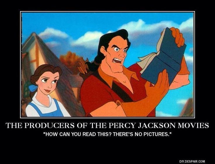 Most likely what happened ~ Percy Jackson Movies
