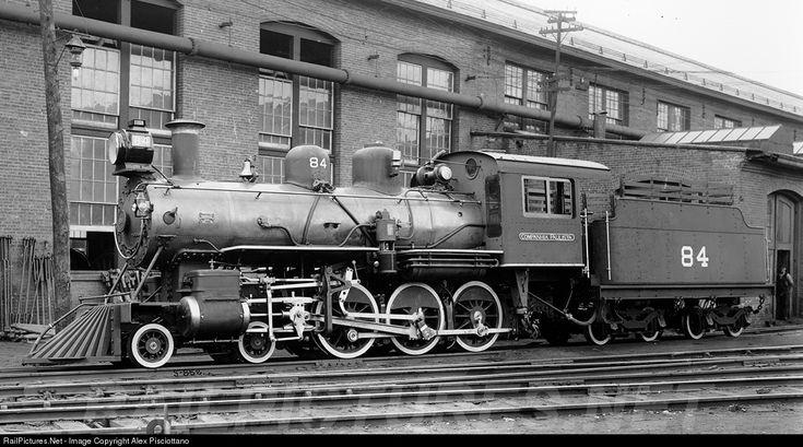 84 C.P.E.F. - Companhia Paulista de Estradas de Ferro Steam 4-6-0 at Schenectady, New York by Alex Pisciottano