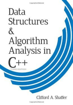 data structures and algorithm analysis in c third edition dover books on computer science