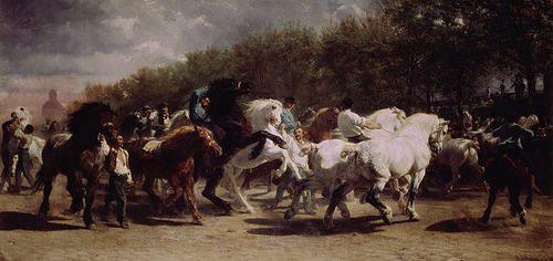 Rosa Bonheur. The Horse Fair, 1853-55