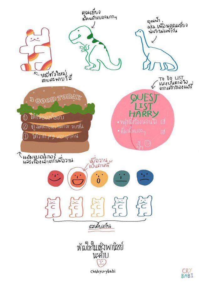 1 Cry Babi Chbbycrybabi 님의 미디어 트윗 트위터 Notes Art Note Doodles Portfolio Template Design