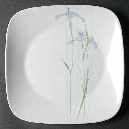 Corning Shadow Iris (Square) Dinner Plate Fine China Dinnerware by Corning. $9.99 & 36 best Home \u0026 Kitchen - Plates images on Pinterest | Countertop ...