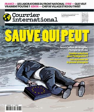 Courrier International 1297, du 10 septembre 2015