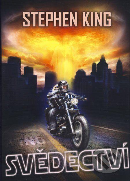 Syrový postapokalyptický román Svědectví Stephena Kinga je řazený k autorovým nejlepším dílům. Rozehrává v něm již mnohokrát zpracované téma boje s katastrofální epidemií nevyléčitelné nakažlivé choroby, která má zde podobu