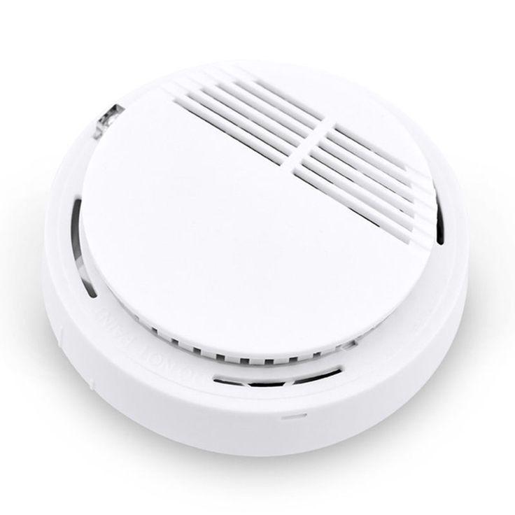 1 stücke Großhandel! Hoch Wireless Empfindliche Sicherheitssystem Unabhängiger Rauchmelder Feuer Home Safety Alarm Erfassen Rauch Sensor