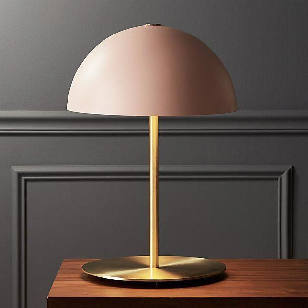 20 Stylish Ways To Illuminate Your Small Space Refinery29 Cutelamps Pink Table Lamp Modern Table Lamp Unique Lamps