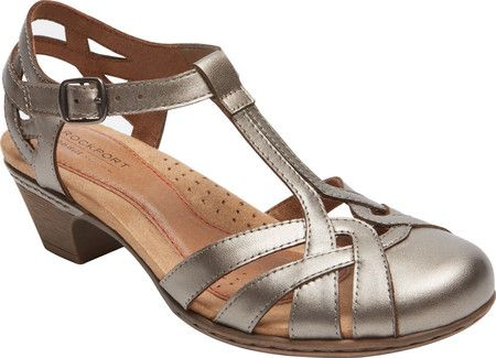 My new shoes! Rockport-Cobb Hill Aubrey T Strap Sandal