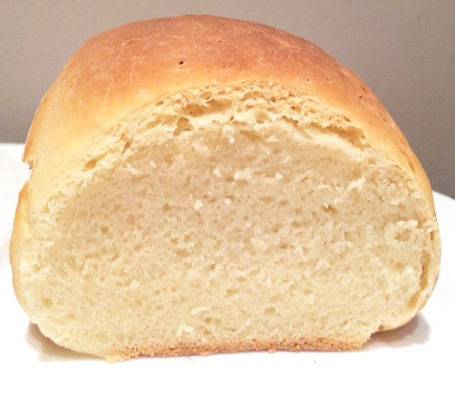 Pan de leche de Dan Lepard sin gluten.