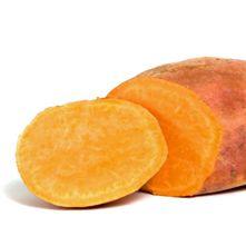 Zoete aardappel. Zoete aardappelen komen oorspronkelijk uit Mexico. Bataten zijn de wortels van de subtropische batatenplant.