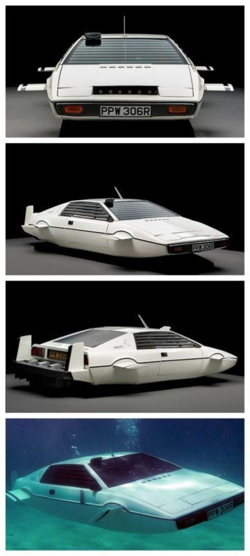 Wow! The James Bond Lotus Esprit Submarine Car found in New York. Never guess how much this sold for? Click to find out.