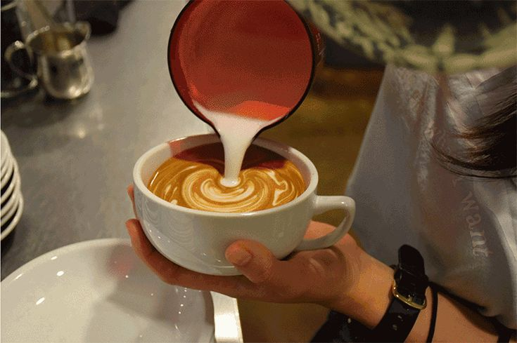 coffee art in the making, Japan brews its own culture #coffee #japan #art #brew #culture
