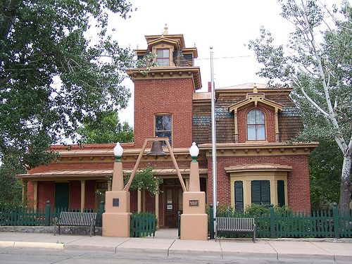 silver city new mexico - The old firehouse - now a museum.