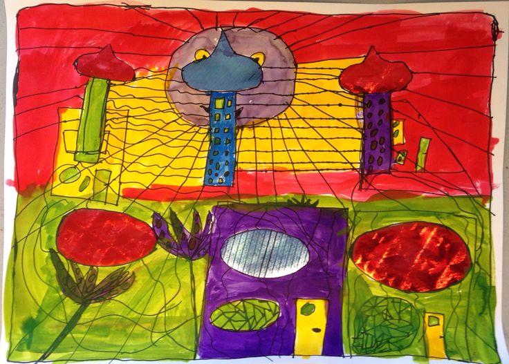 Inspiratiebron Hundertwasser