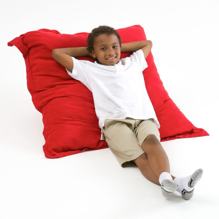 Made with faux suede microfiber and eco-friendly filler, these beanbags offer a fun twist on comfort that will get you excited about lounging.