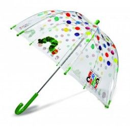 The VERY HUNGRY CATERPILLAR CLEAR DOME UMBRELLA