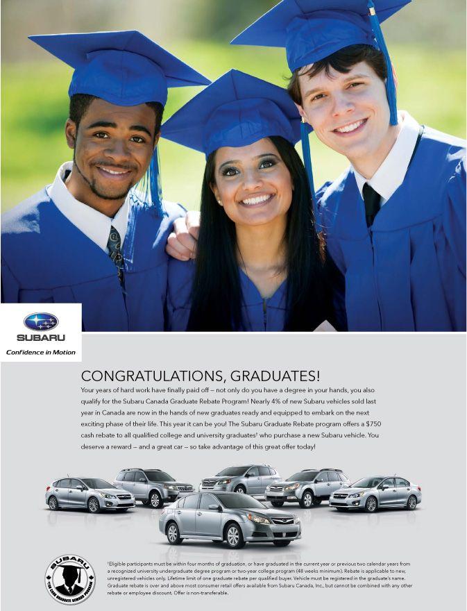 Best Subaru Calgary Images On Pinterest Calgary Subaru And Cars - Subaru graduate program
