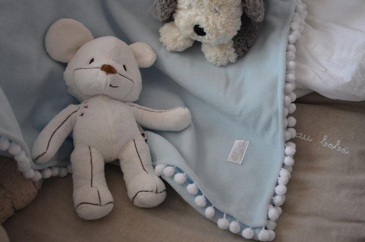 Kiconico, pupazzo Zara Home e una morbida  coperta Picci per sonni tranquilli