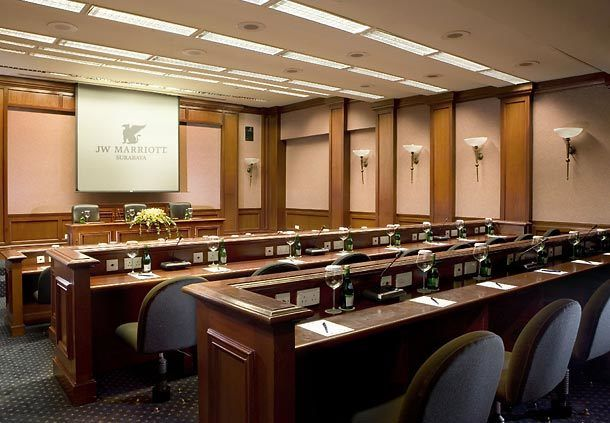 Jw Marriott Hotel Surabaya Pacific Meeting Room Holiday
